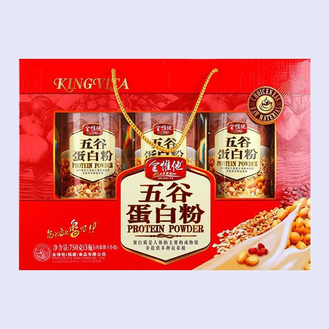 五谷蛋白粉 750g盒