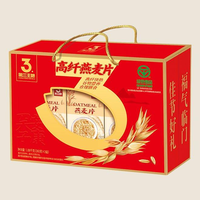 高纤燕麦片 1080g盒